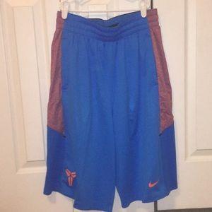 Nike Kobe dri-fit shorts